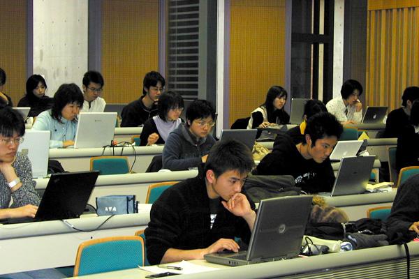 「TOEFL 実践集中講座」の様子4